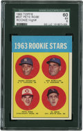 Baseball Cards:Singles (1960-1969), 1963 Topps 1963 Rookie Stars Pete Rose #537 SGC 60 EX 5....
