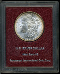 Additional Certified Coins, 1891 $1 Morgan Dollar Paramount International MS65. Mintage:8,694,206. Numismedi...