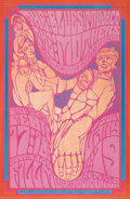 Music Memorabilia:Posters, Blues Project/Mothers/Canned Heat Fillmore Concert Poster BG-50(Bill Graham, 1967)....