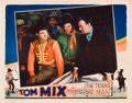"Movie Posters:Western, Texas Bad Man (Universal, 1932). Lobby Card (11"" X 14"").. ..."