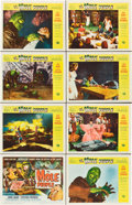 "Movie Posters:Science Fiction, The Mole People (Universal International, 1956). Lobby Card Set of8 (11"" X 14"").. ... (Total: 8 Items)"
