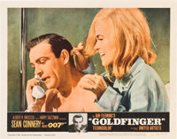 "Goldfinger (United Artists, 1964). Lobby Cards (4) (11"" X 14""). ... (Total: 4 Items)"