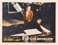 "Movie Posters:James Bond, Goldfinger (United Artists, 1964). Lobby Cards (4) (11"" X 14"")..... (Total: 4 Items)"
