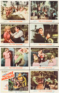 "Movie Posters:Science Fiction, The Time Machine (MGM, 1960). Lobby Card Set of 8 (11"" X 14"").. ...(Total: 8 Items)"