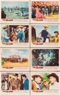 "Movie Posters:Western, The Alamo (United Artists, 1960). Lobby Card Set of 8 (11"" X 14"").. ..."