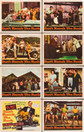 "Movie Posters:Rock and Roll, Don't Knock the Rock (Columbia, 1957). Lobby Card Set of 8 (11"" X14"").. ..."
