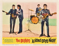 "Movie Posters:Rock and Roll, A Hard Day's Night (United Artists, 1964). Lobby Cards (4) (11"" X14"").. ... (Total: 4 Items)"