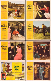 "The Quiet Man (Republic, 1952). Lobby Card Set of 8 (11"" X 14"")"