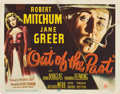 "Movie Posters:Film Noir, Out of the Past (RKO, 1947). Title Lobby Card (11"" X 14"").. ..."