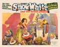 "Movie Posters:Animated, Snow White and the Seven Dwarfs (RKO, 1937). Lobby Card (11"" X 14"").. ..."