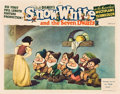 "Movie Posters:Animated, Snow White and the Seven Dwarfs (RKO, 1937). Lobby Card (11"" X14"").. ..."