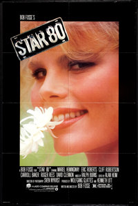 """Star 80 (Warner Brothers, 1983). One Sheet (27"""" X 41"""") and Program (Multiple Pages) (9"""" X 12""""). Dram..."""