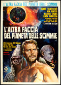 """Movie Posters:Science Fiction, Beneath the Planet of the Apes (20th Century Fox, 1970). Italian 4- Folio (55"""" X 78""""). Science Fiction.. ..."""