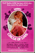 "Movie Posters:Sexploitation, Circle of Love (Continental, 1965). One Sheet (27"" X 41"").Sexploitation.. ..."