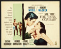 """Movie Posters:Romance, All the Fine Young Cannibals (MGM, 1960). Lobby Card Set of 8 (11"""" X 14""""). Romance.. ..."""