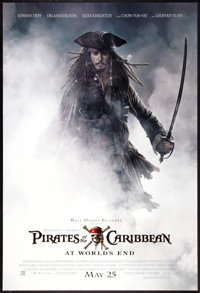 "Pirates of the Caribbean: At World's End Lot (Buena Vista, 2007). One Sheets (2) (27"" X 40"") DS and SS Advance..."