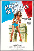 """Movie Posters:Adult, Made in France Lot (Unknown, 1970s). One Sheets (2) (27"""" X 40""""). Adult.. ... (Total: 2 Items)"""