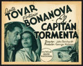 "Movie Posters:Adventure, El Capitan Tormenta (Grand National, 1936). Spanish Lobby Card Setof 8 (11"" X 14""). Adventure.. ... (Total: 8 Items)"