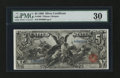 Large Size:Silver Certificates, Fr. 268 $5 1896 Silver Certificate PMG Very Fine 30....
