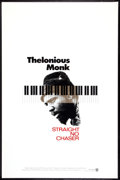 "Movie Posters:Documentary, Thelonious Monk: Straight, No Chaser Lot (Warner Brothers, 1988). One Sheet (27"" X 41"") and Swedish Insert (12.5"" X 27.5""). ... (Total: 2 Items)"