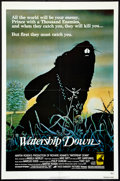 "Movie Posters:Animated, Watership Down (Avco Embassy, 1978). One Sheet (27"" X 41"").Animated.. ..."