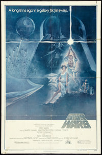 "Star Wars (20th Century Fox, 1977). One Sheet (27"" X 41"") Style A. Science Fiction"