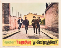 "A Hard Day's Night (United Artists, 1964). Lobby Cards (4) (11"" X 14""). ... (Total: 4 Items)"