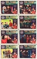 "Movie Posters:Science Fiction, The Thing from Another World (RKO, 1951). Lobby Card Set of 8 (11""X 14"").. ... (Total: 8 Items)"