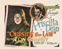 """Outside the Law (Universal, 1920). Title Lobby Card (11"""" X 14"""")"""