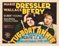 "Movie Posters:Comedy, Tugboat Annie (MGM, 1933). Title Lobby Card (11"" X 14"").. ..."