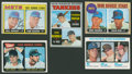 Baseball Cards:Lots, 1960's-1970's Topps Baseball Hall of Famers Rookie cards Group of(5)....