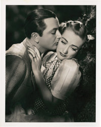 """Joan Crawford and Robert Young in """"The Shining Hour"""" by Frank Tanner (MGM, 1938). Portrait (8"""" X 10""""..."""
