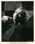"Movie Posters:Miscellaneous, Marlene Dietrich (Paramount, 1935). Portrait (8"" X 10"").. ..."