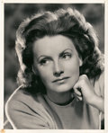 "Movie Posters:Drama, Greta Garbo by Clarence Sinclair Bull (MGM, 1941). Portrait Still (8"" X 10"").. ..."