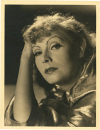 "Greta Garbo in ""Susan Lenox (Her Fall and Rise)"" by Clarence Sinclair Bull (MGM, 1931). Portrait Still (10&quo..."