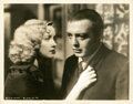 "Movie Posters:Drama, Peter Lorre and Marian Marsh in ""Crime and Punishment"" (Columbia,1935). Stills (2) (8"" X 10"").. ... (Total: 2 Items)"
