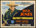 "Movie Posters:Western, Desert Vengeance (Columbia, 1931). Title Lobby Card (11"" X 14""). Western.. ..."