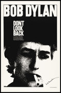 "Movie Posters:Documentary, Don't Look Back (Leacock-Pennebaker, 1967). Autographed One Sheet (27"" X 41""). Documentary.. ..."