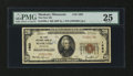 National Bank Notes:Minnesota, Mankato, MN - $20 1929 Ty. 1 The First NB Ch. # 1683. ...
