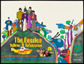"Movie Posters:Animated, Yellow Submarine (United Artists, 1968). British Quad (30"" X 40"").Animated.. ..."