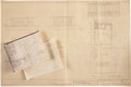 Movie/TV Memorabilia:Documents, Frank Sinatra Home and Country Club Blueprints.... (Total: 3 )