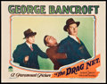 "Movie Posters:Crime, The Drag Net (Paramount, 1928). Lobby Card (11"" X 14""). Crime.. ..."