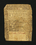 Colonial Notes:Connecticut, Connecticut June 1, 1773 5s Slash Cancel Very Good, backed....