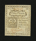 Colonial Notes:Connecticut, Connecticut October 11, 1777 2d Slash Cancel Choice New....
