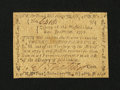 Colonial Notes:Massachusetts, Massachusetts June 18, 1776 2s/4d Extremely Fine....