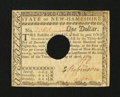 Colonial Notes:New Hampshire, New Hampshire April 29, 1780 $1 Extremely Fine-About New....
