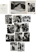Music Memorabilia:Photos, Elvis Presley Candid Photos Used in Elvis (Rolling StonePress/Times Books, 1982).... (Total: 14 Items)
