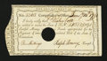 Colonial Notes:Connecticut, Connecticut Payment of Interest. January 10, 1791. Gem New....