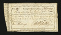 Colonial Notes:Connecticut, Connecticut Payment of Interest. February 1, 1789. Very Fine....
