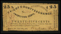 Obsoletes By State:Arkansas, Eunice, AR- Anderson & Easly (Chicot County Exchange) 25¢ June 12, 1862 Rothert 171-1. ...